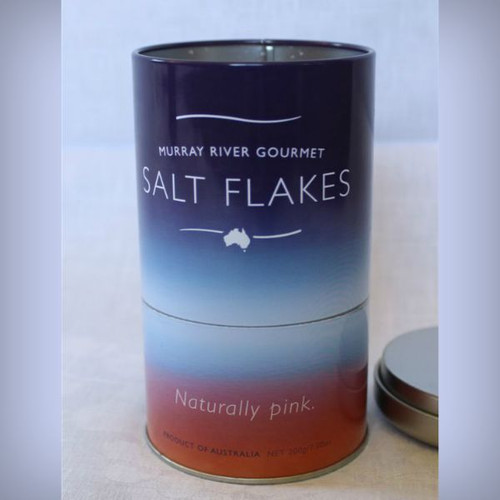 Murray River Salt Flakes in Gift Tin 200g