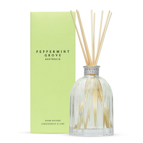 Lemongrass and Lime Diffuser - 350ml by Peppermint Grove