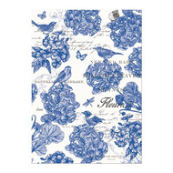 Indigo Cotton Tea Towel by Michel Design Works
