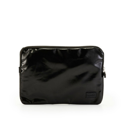 Lapoche Flight Pouch - Black - for passport, travel documents...