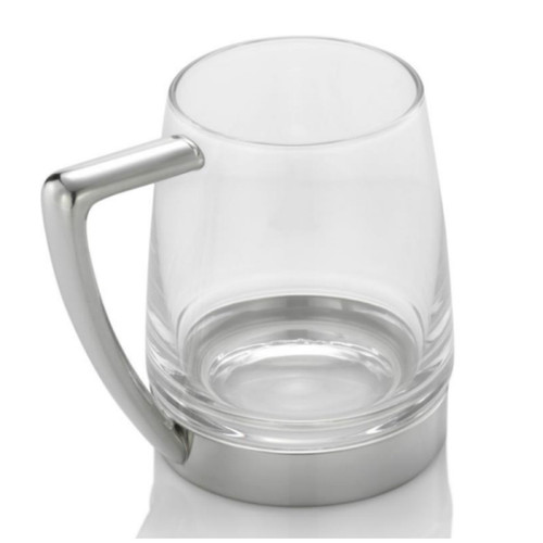 Royal Selangor Modern Glass Bottom Tankard - 560 ml
