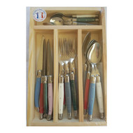 Simplicite Laguiole Cutlery Set 24 Piece - Giverny by Jean Dubost