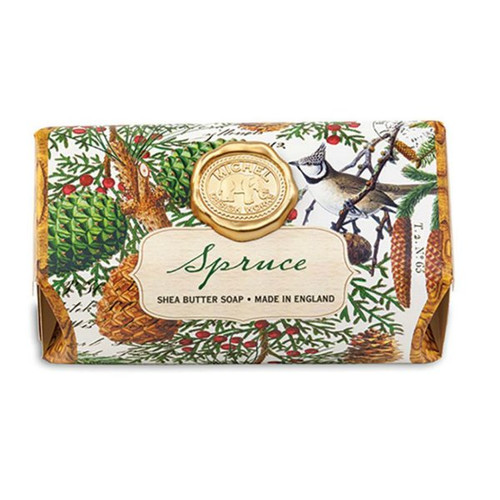 Spruce Large Bath Soap by Michel Design Works