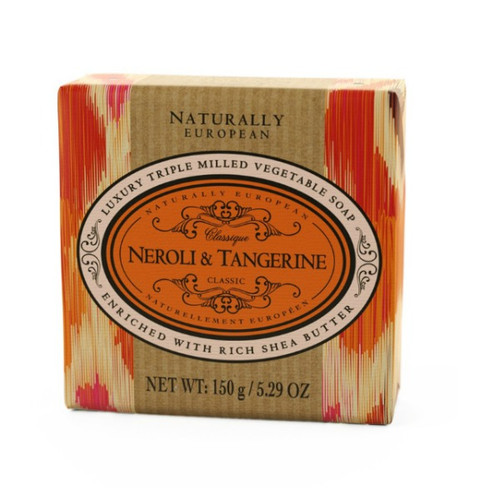 Naturally European Luxury Soap - Neroli and Tangerine 150g