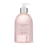Peppermint Grove Hand and Body Wash  in a pale pink 500 ml pump bottle - Freesia and Berries