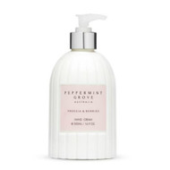 Peppermint Grove Hand Cream Lotion - Freesia and Berries. 500ml pump bottle