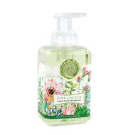 Pink Cactus Foaming Hand Soap by Michel Design Works in a 530 ml pump decor bottle