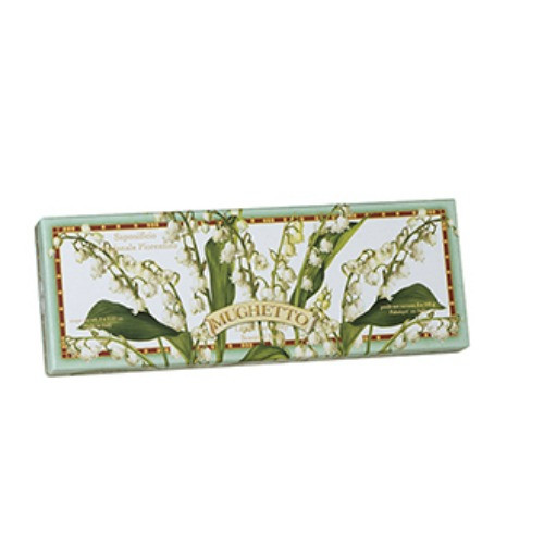 Saponificio Artigianale Fiorentino Lily of the Valley Soap Set - 3 x 100g