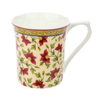 Queens Ceylon Kandy Fine Bone China Mug by Churchhill - gift boxed