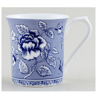 Queens Blue Story Albertine Fine Bone China Mug by Churchhill - gift boxed