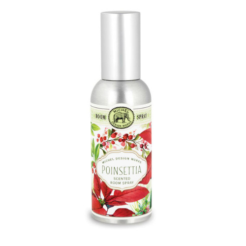 Poinsettia Home Fragrance Spray by Michel Design Works