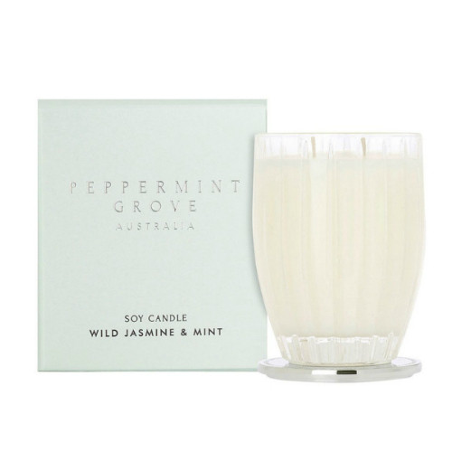 Peppermint Grove Wild Jasmine and Mint Large Candle - 350g