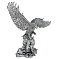 Comyns Sterling Silver  - Golden Eagle - Filled Figurine