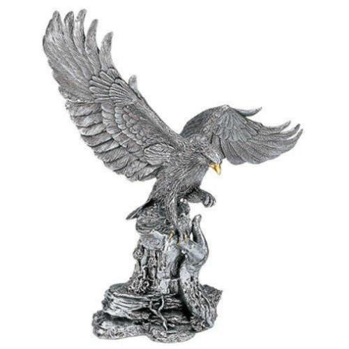 Comyns Sterling Silver  - Golden Eagle - Filled Figurine