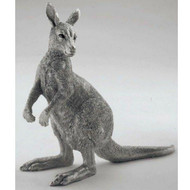 Comyns Sterling Silver:  Kangaroo  - 17.5 cm Filled Figurine