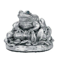Comyns Sterling Silver:  Frog - 5.5 cm filled Figurine