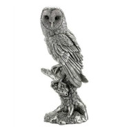 Comyns Sterling Silver:  Filled Figurine - Barn Owl 21 cm