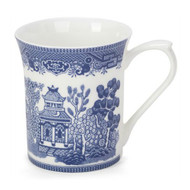 Queens Blue Story Willow Fine Bone China Mug by Churchhill - gift boxed