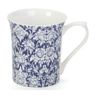 Queens Blue Story #3 Ava Fine Bone China Mug by Churchhill - gift boxed