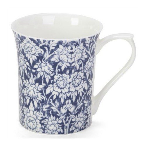 Queens Blue Story #3 Ava Fine Bone China Mug by Churchill - gift boxed