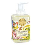 Summer Days Foaming Hand Soap by Michel Design Works 530ml pump bottle of hand wash with designer label of garden flowers