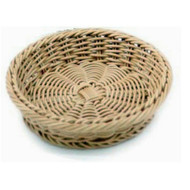 Woven Round Tray Basket 22 cm