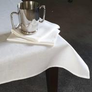 Linen Napkin  46 x 33 cm Lovely quality white pure linen