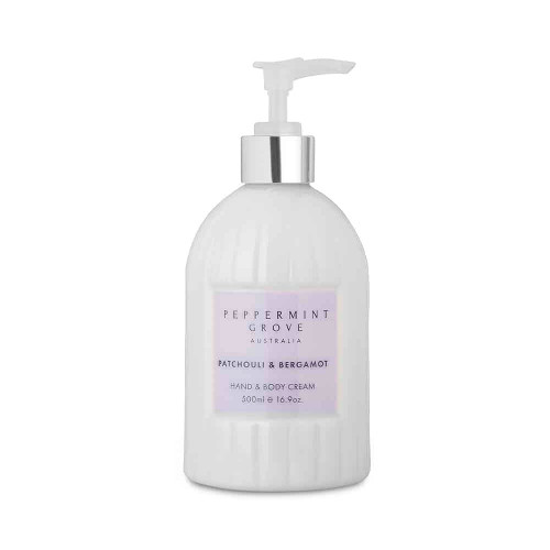 Peppermint Grove Hand and Body Cream - Patchouli