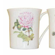 Queens Royal Parsons Roses Rosa Provincialia Mug by Churchill - gift boxed
