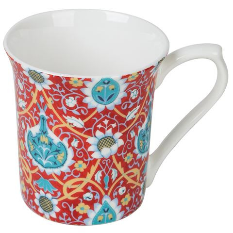 Queens Sian Claret Mug by Churchill - gift boxed