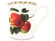 Queens William Hookers Fruit Mug Apple by Churchill - Fine Bone China Gift Boxed