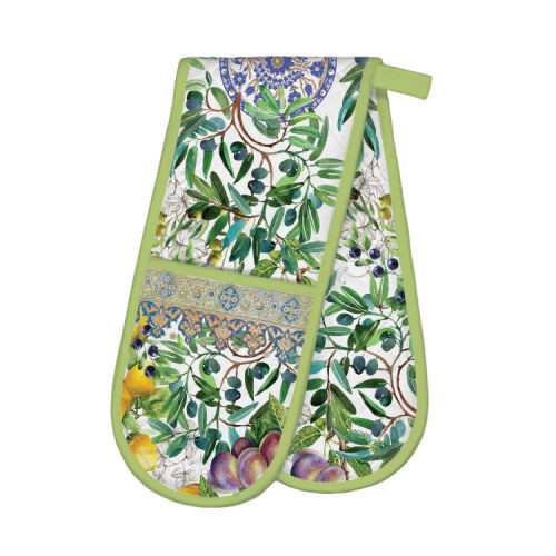 Tuscan Grove Double Oven Glove by Michel Design Works