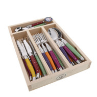 Laguiole 24 Piece Cutlery Set Maison by Jean Dubost - Mixed Colour