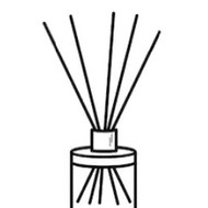 Ashleigh and Burwood Black Replacement Reeds for Diffusers