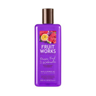 Fruit Works Passionfruit & Watermelon Shower Gel 500ml - Vegan Range by Grace Cole