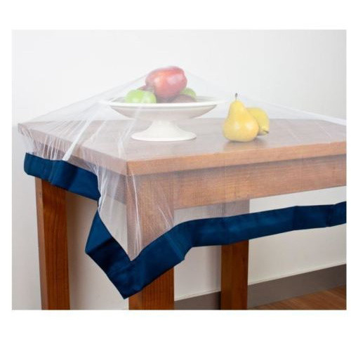 Buzz Off Food Cover by Hyde Park - Navy weighted edging around polyester netting