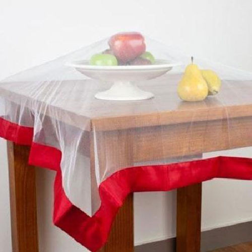 Buzz Off Food Cover by Hyde Park - Red weighted edging around polyester netting