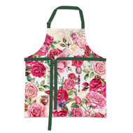 Royal Rose Apron by Michel Design Works apron with design of roses