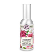 Royal Rose Home Fragrance Spray by Michel Design Works metal canister room spray with design of roses