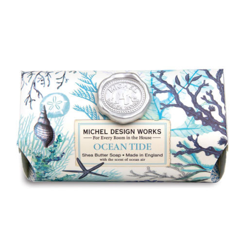 Ocean Tide Large Bar Soap by Michel Design Works