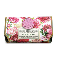 Royal Rose Large Bar Soap by Michel Design Works