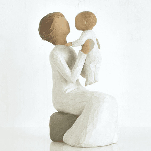 Willow Tree Figurine -Grandmother by Susan Lordi 26072 a resin figurine of a grandmother and small child