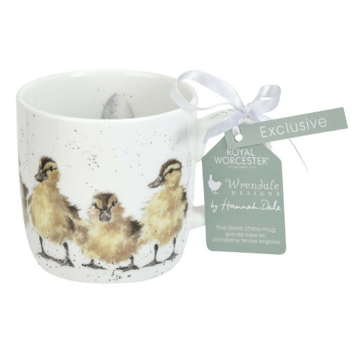 Royal Worcester Wrendale Ducks Just Hatched 310 ml- gift boxed