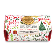 Joy to the World Large Bar Soap by Michel Design Works