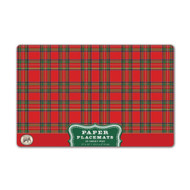Tartan Placemats by Michel Design Works - Pack of 25
