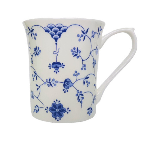 Queens Blue Story Classic Finlandia Royale Mug by Churchill - gift boxed