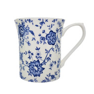 Queens Blue Story Classic Jacobean Royale Mug by Churchill - gift boxed