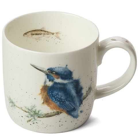 Royal Worcester Wrendale King of the River Mug 310 ml - gift boxed