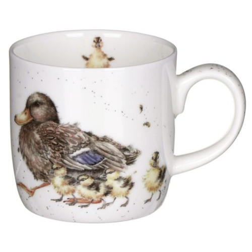 Royal Worcester Wrendale Room for a small one Duck Mug 310ml - gift boxed
