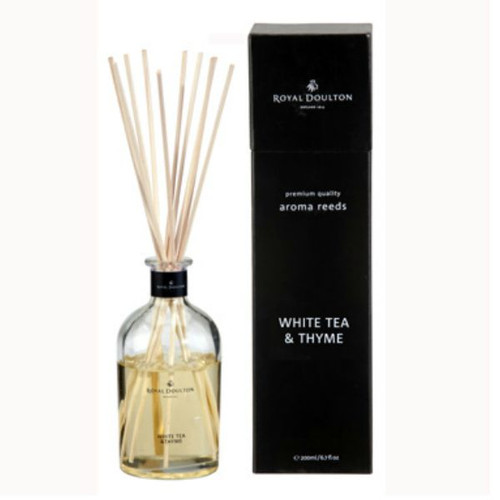 Royal Doulton Reed diffuser  - the popular white tea and thyme